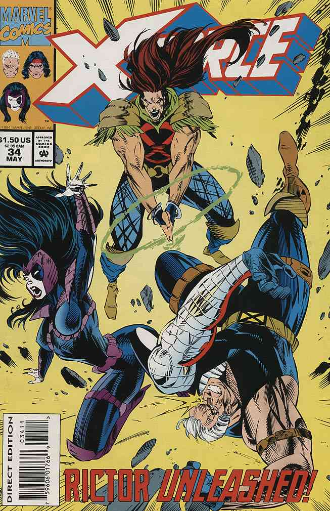 X-Force comic issue 34