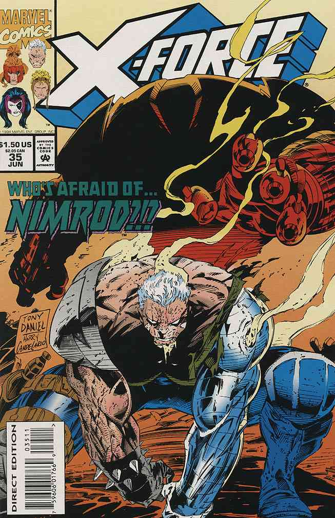 X-Force comic issue 35