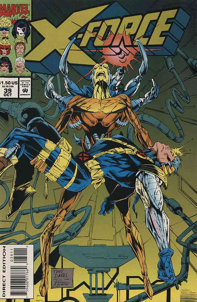 X-Force comic issue 39
