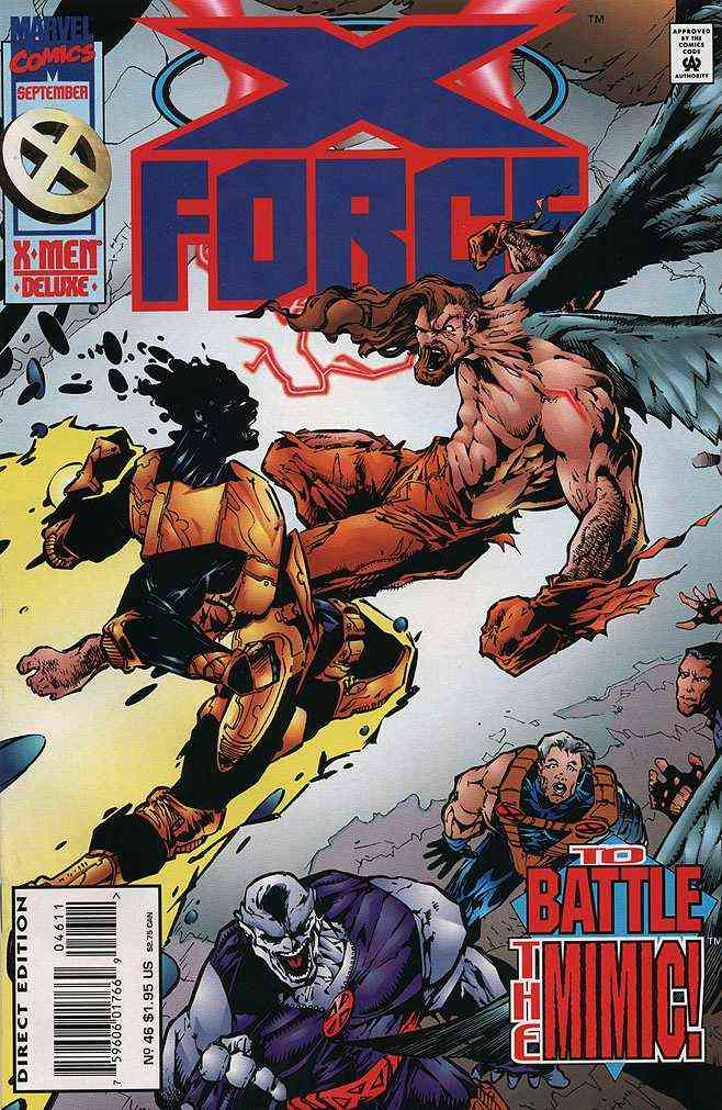 X-Force comic issue 46