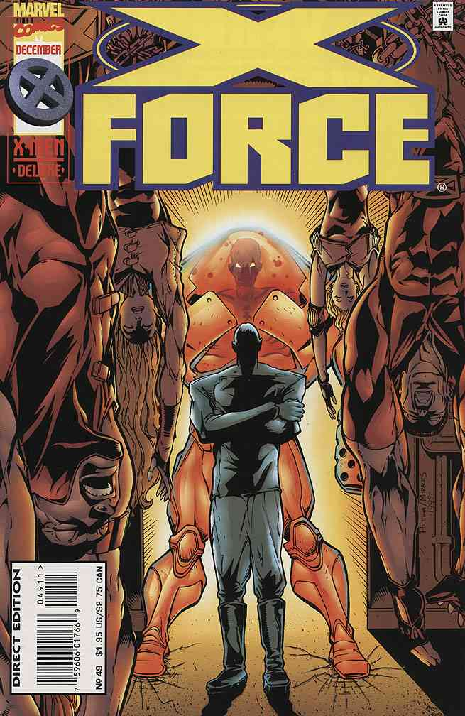 X-Force comic issue 49