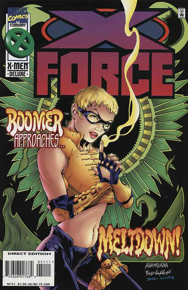 X-Force comic issue 51