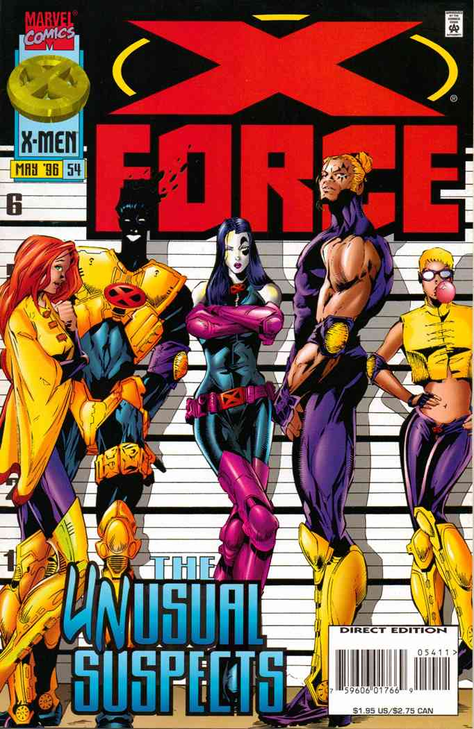 X-Force comic issue 54