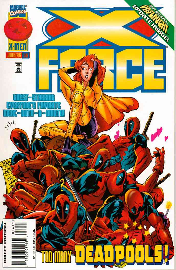X-Force comic issue 56