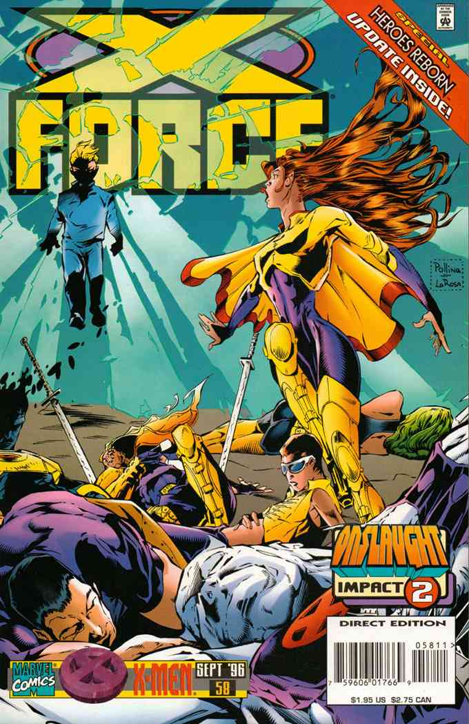 X-Force comic issue 58
