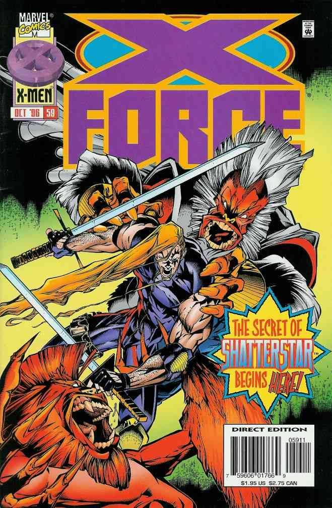 X-Force comic issue 59