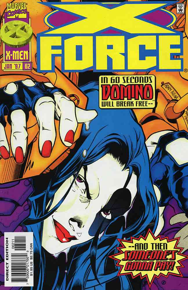 X-Force comic issue 62
