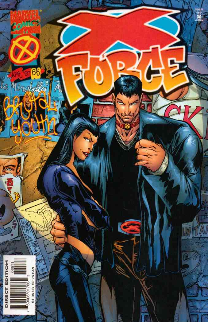 X-Force comic issue 65