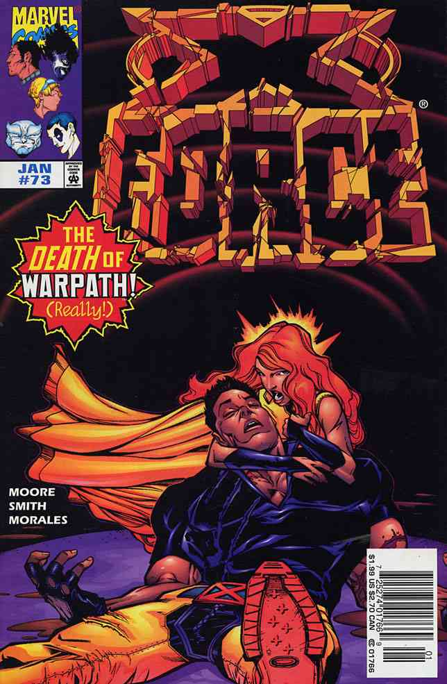 X-Force comic issue 73