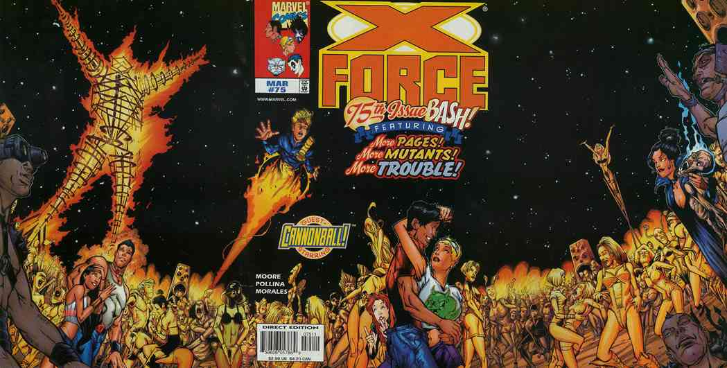 X-Force comic issue 75