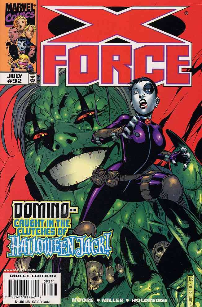 X-Force comic issue 92