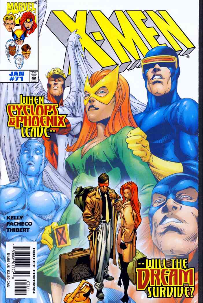 X-Men (2nd Series) comic issue 71