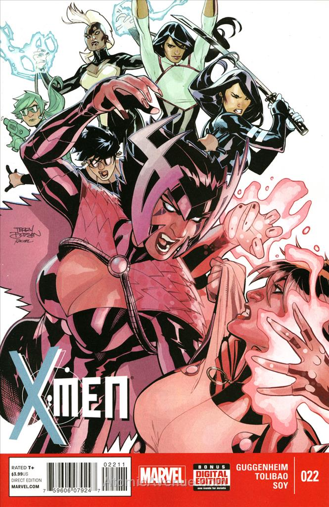 X-Men (4th Series) comic issue 22