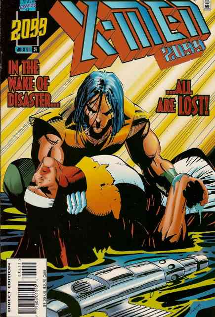 X-Men 2099 comic issue 34