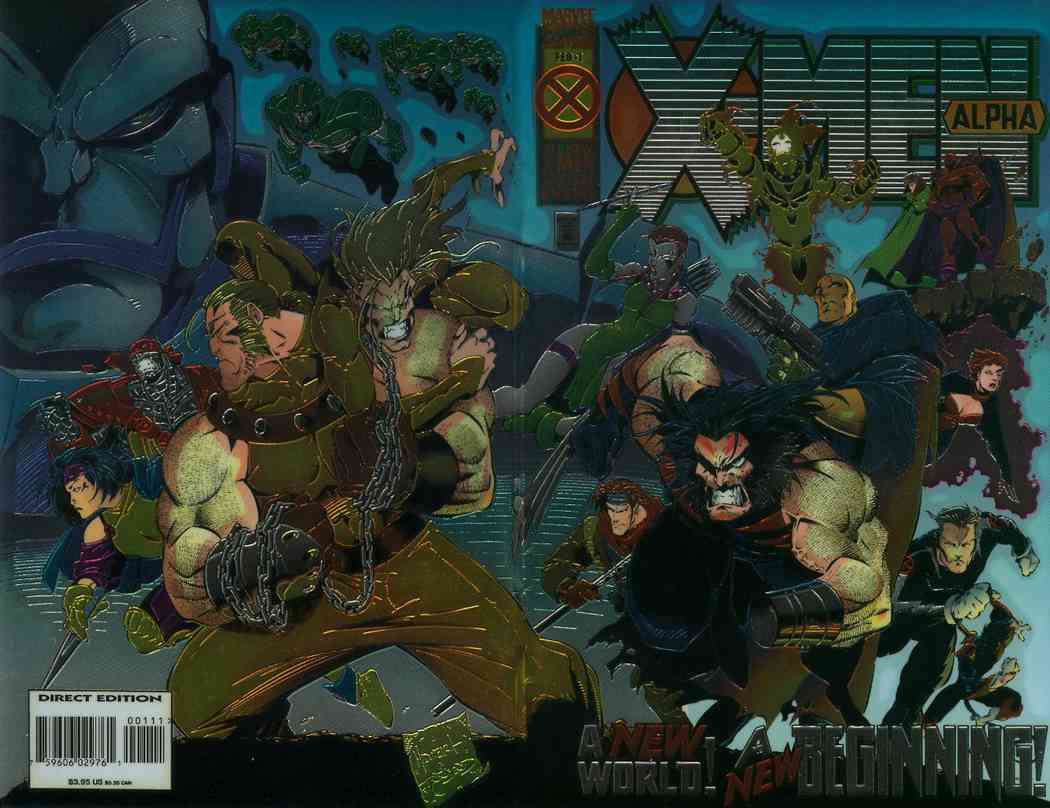 X-Men Alpha comic issue 1