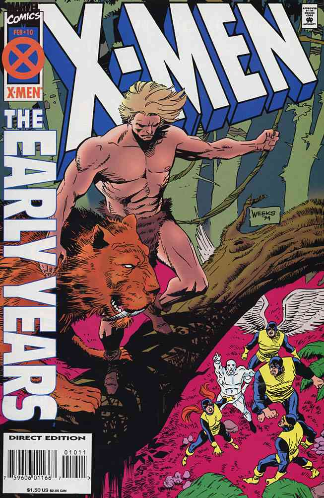 X-Men: The Early Years comic issue 10