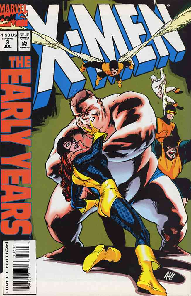 X-Men: The Early Years comic issue 3