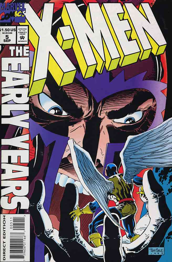 X-Men: The Early Years comic issue 5