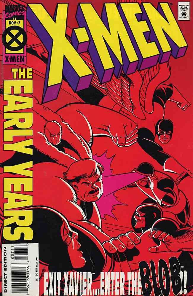 X-Men: The Early Years comic issue 7