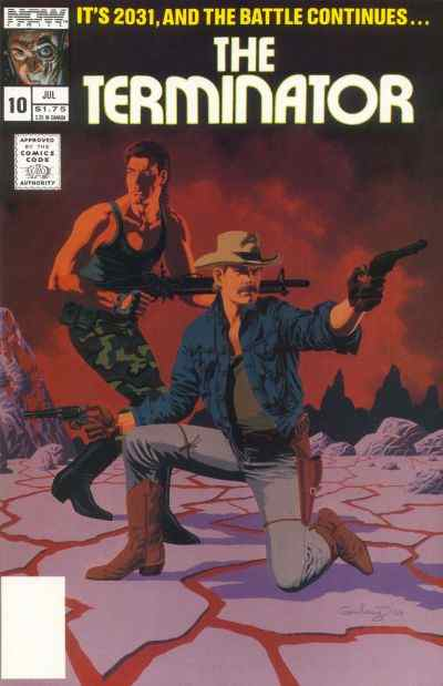 Terminator, The (1st Series) comic issue 10