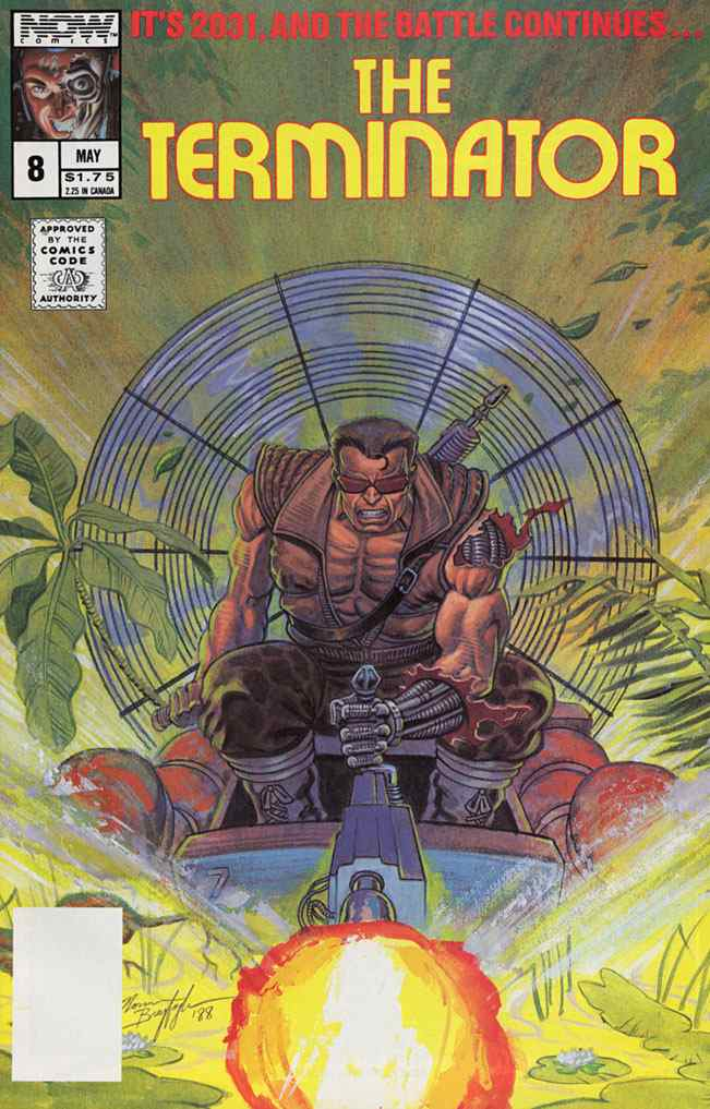 Terminator, The (1st Series) comic issue 8