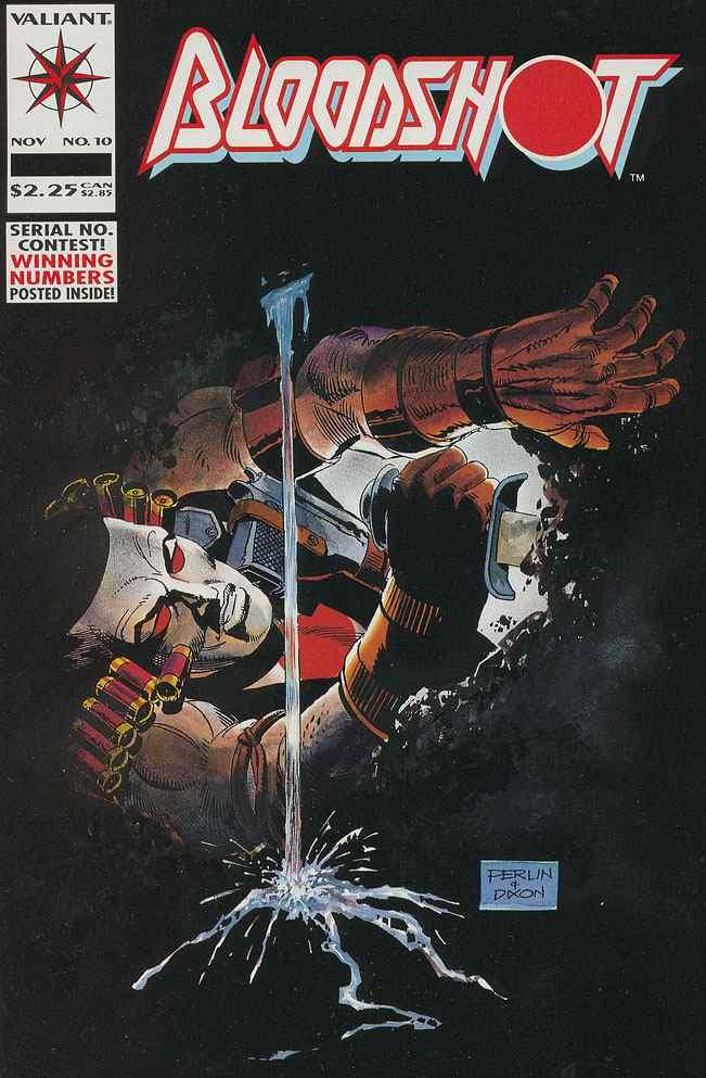 Bloodshot comic issue 10