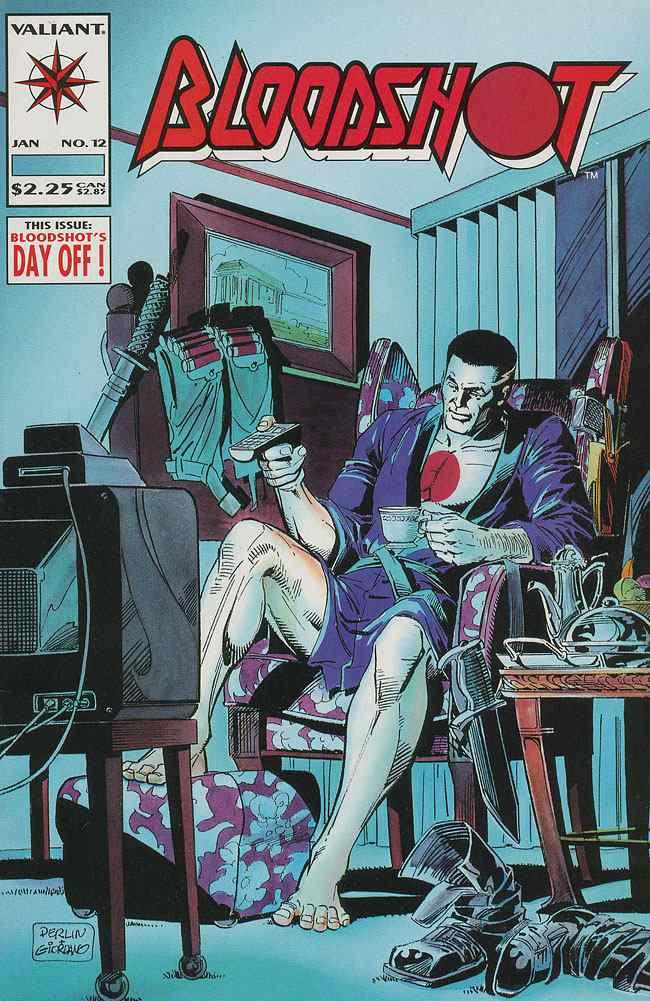 Bloodshot comic issue 12