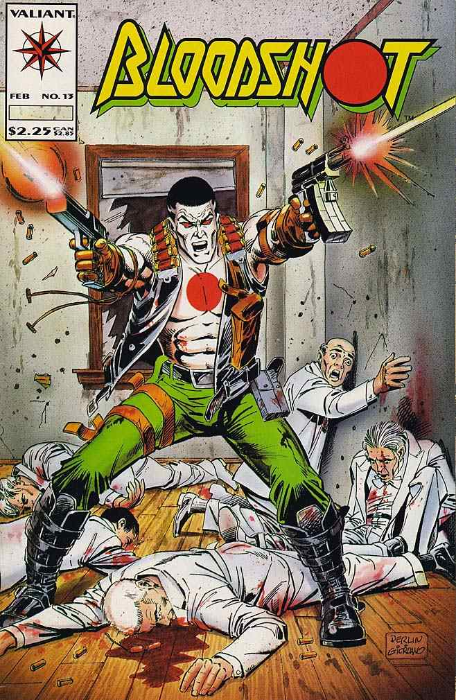 Bloodshot comic issue 13