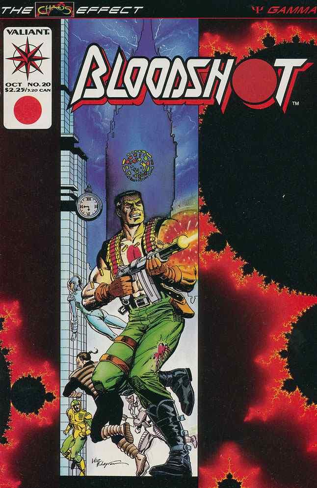 Bloodshot comic issue 20
