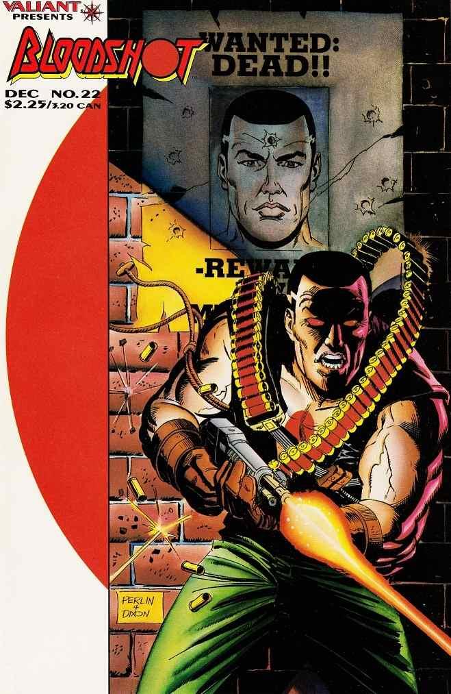 Bloodshot comic issue 22