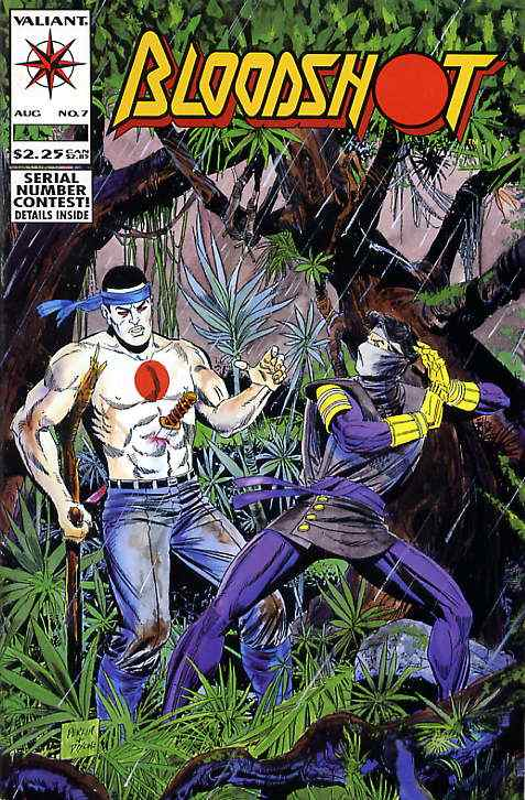 Bloodshot comic issue 7