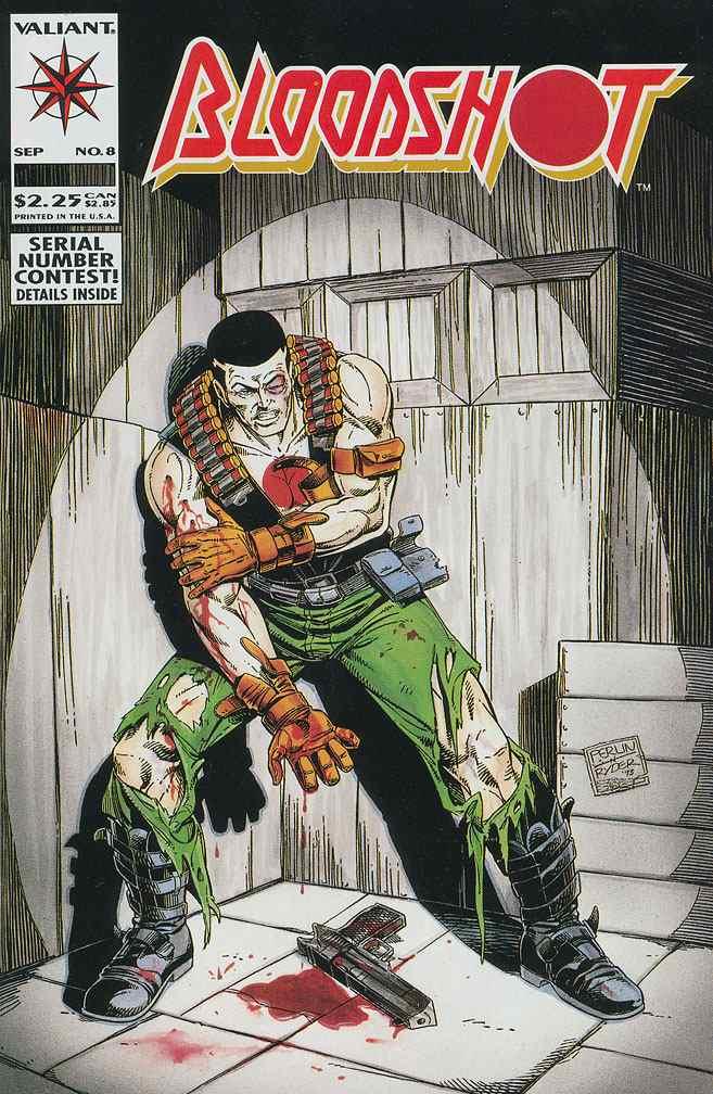 Bloodshot comic issue 8