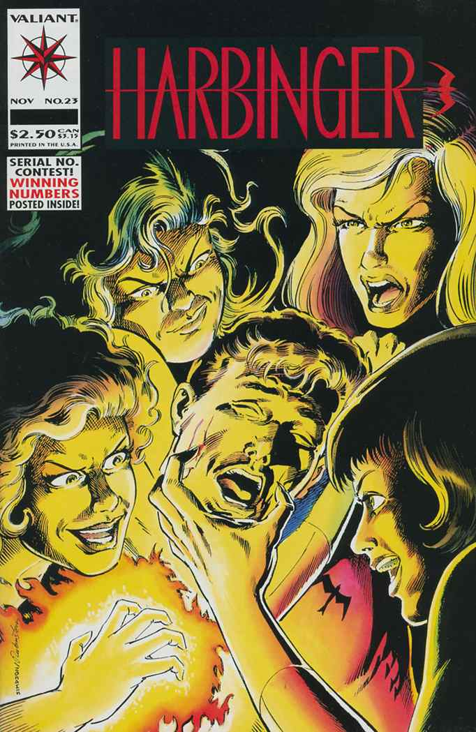 Harbinger comic issue 23